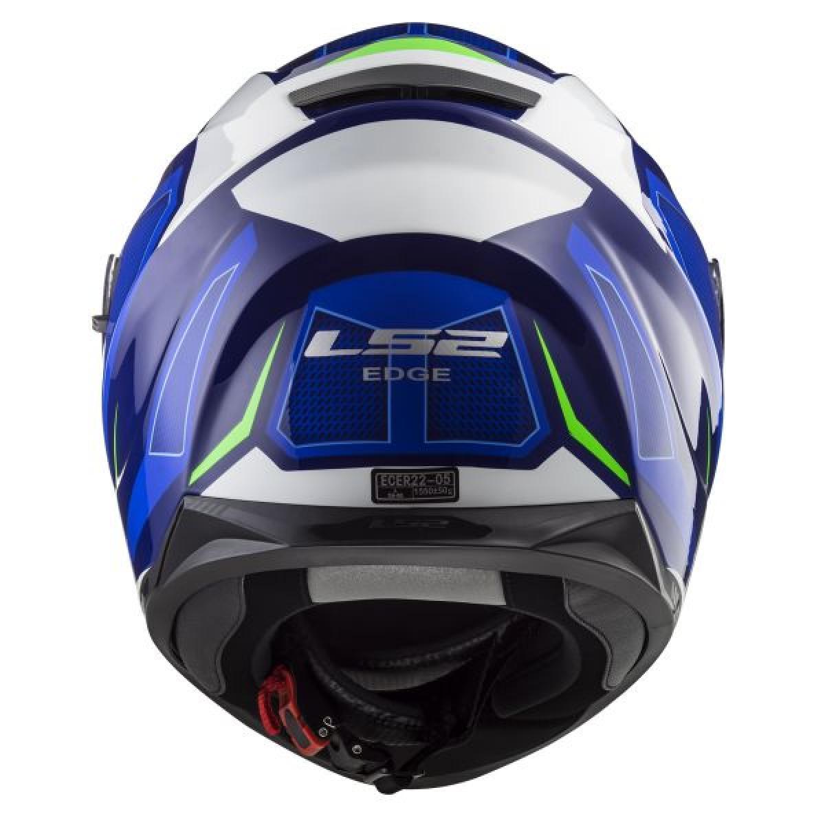 Casque Moto Integral Ls2 Ff320 Stream Evo Axis Bleu Blanc