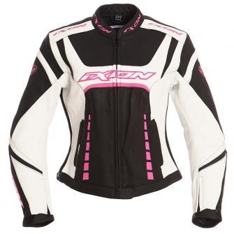 Veste en cuir femme pour moto
