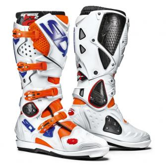 BOTTE CROSS SIDI CROSSFIRE 2 SRS BLEU / ORANGE