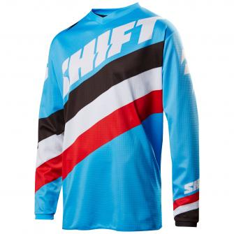 MAILLOT MOTO CROSS SHIFT WHIT3 TARMAC 2017 - BLEU