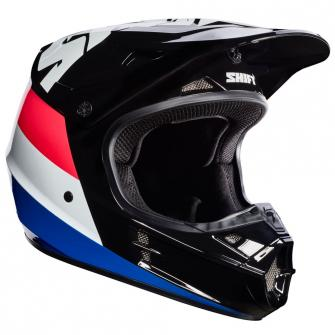 CASQUE MOTO CROSS SHIFT WHIT3 TARMAC 2017 - NOIR
