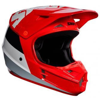CASQUE MOTO CROSS SHIFT WHIT3 TARMAC 2017 - ROUGE