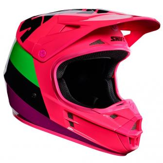 CASQUE MOTO CROSS SHIFT WHIT3 TARMAC 2017 - NOIR ROSE