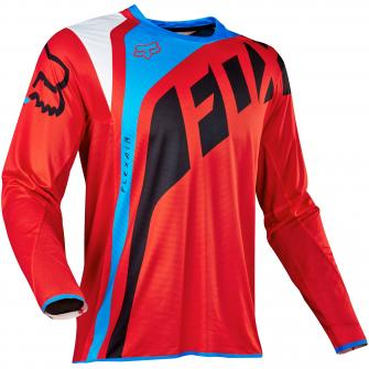 MAILLOT MOTO CROSS FOX FLEXAIR SECA 2017 - ROUGE