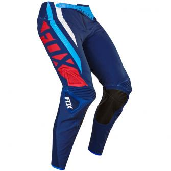PANTALON MOTO CROSS FOX FLEXAIR SECA 2017 - BLEU MARINE