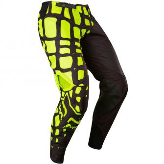 PANTALON MOTO CROSS FOX 360 GRAV 2017 - NOIR JAUNE