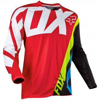 MAILLOT MOTO CROSS FOX 360 CREO 2017 - ROUGE