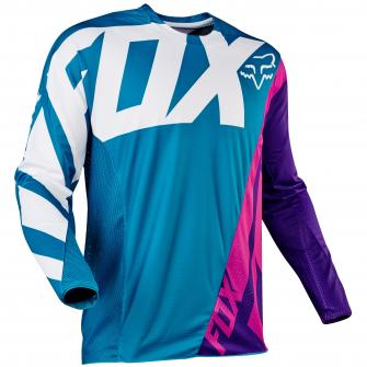 MAILLOT MOTO CROSS FOX 360 CREO 2017 - TEAL