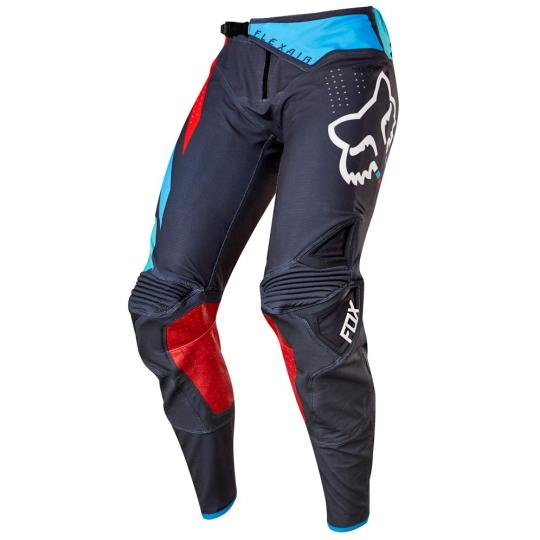 PANTALON MOTO CROSS FOX FLEXAIR SECA 2017 - GRIS / ROUGE