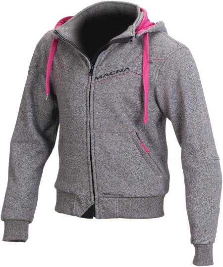 MACNA SWEAT MOTO FREERIDE FEMME GRIS ROSE