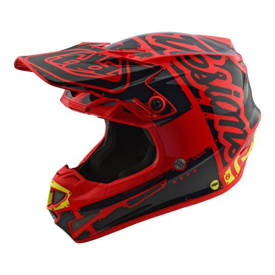 CASQUE CROSS SE4 POLYACRYLITE FACTORY ROUGE