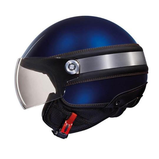 CASQUE MOTO JET NEXX SX60 ICE 2 NAVY BLUE