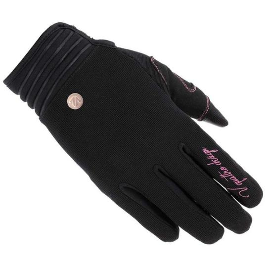 GANTS MOTO ETE FEMME VQUATTRO DISTRICT 18 NOIR / ROSE