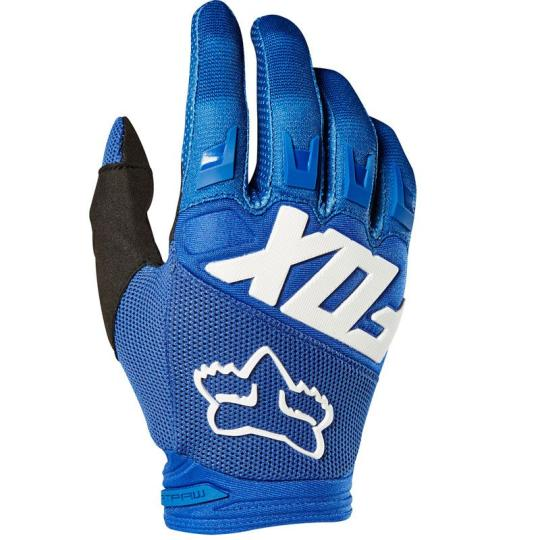 GANTS MOTO CROSS FOX DIRTPAW - RACE - BLUE 2020