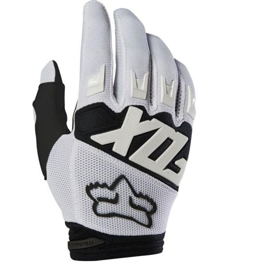 GANTS MOTO CROSS FOX DIRTPAW - RACE - WHITE 2020