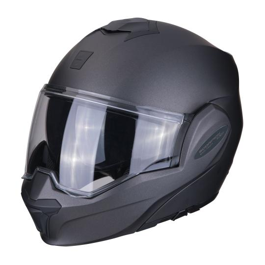 CASQUE MOTO CONVERTIBLE SCORPION EXO TECH SOLID - ANTHRACITE