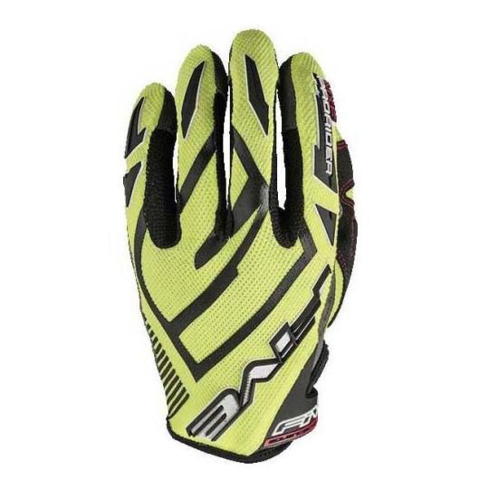 GANTS MOTO CROSS FIVE MXF PRORIDER S FLUO YELLOW 2019