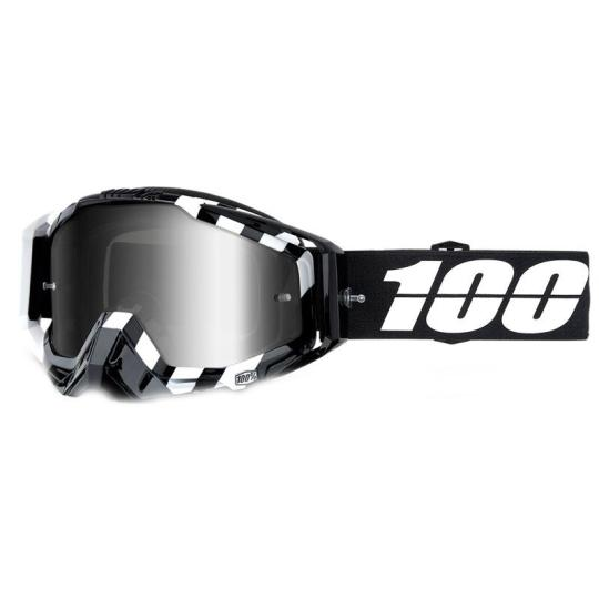 MASQUE MOTO CROSS 100% RACECRAFT ALTA - NOIR / BLANC