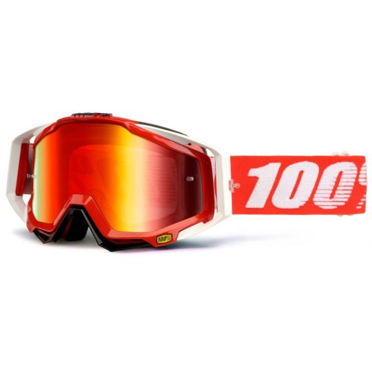 MASQUE MOTO CROSS 100% RACECRAFT FIRE RED