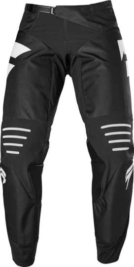 PANTALON MOTO CROSS SHIFT 3LACK LABEL RACE - BLACK WHITE 2020