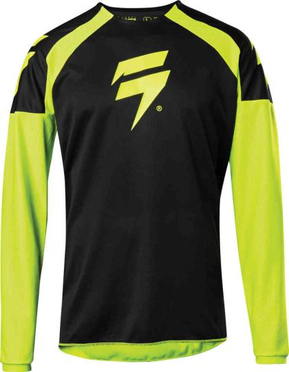 MAILLOT MOTO CROSS SHIFT WHIT3 LABEL RACE 1 - YELLOW 2020