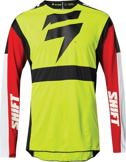 MAILLOT MOTO CROSS SHIFT 3LACK LABEL RACE 2 - YELLOW 2020