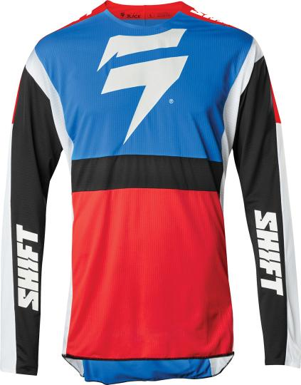 MAILLOT CROSS SHIFT 3LACK LABEL RACE 2 -BLUE RED 2020