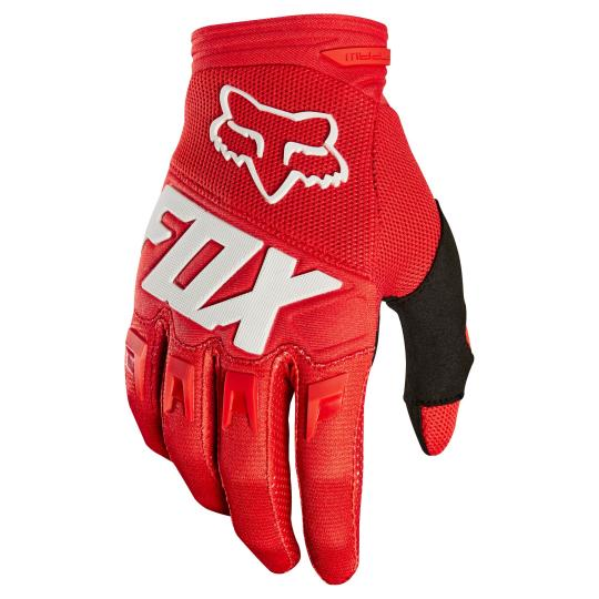 GANTS MOTO CROSS FOX YOUTH DIRTPAW - RACE - RED