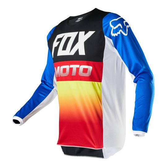 MAILLOT MOTO CROSS FOX 180 - FYCE - BLUE RED 2020