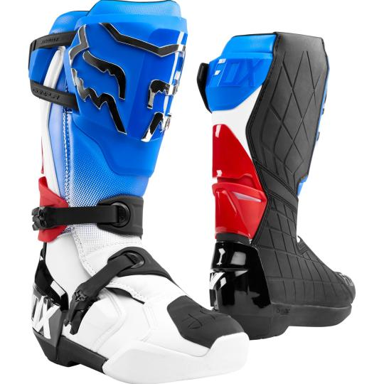 BOTTES MOTO CROSS FOX COMP R - BLUE RED 2020