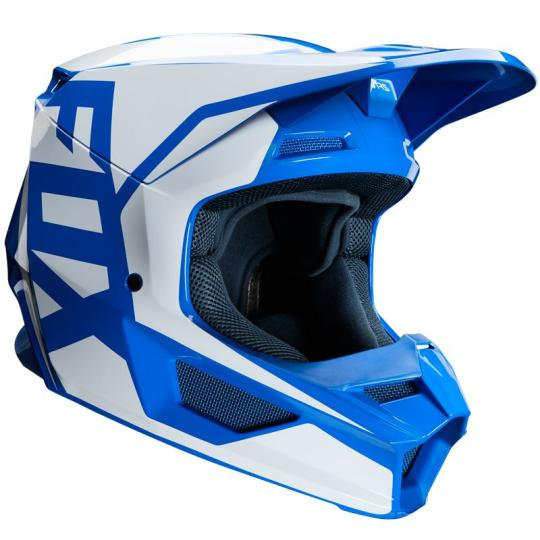 CASQUE MOTO CROSS FOX V1 - PRIX - BLUE 2020