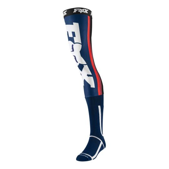 CHAUSSETTES MOTO CROSS FOX LINC - NAVY RED