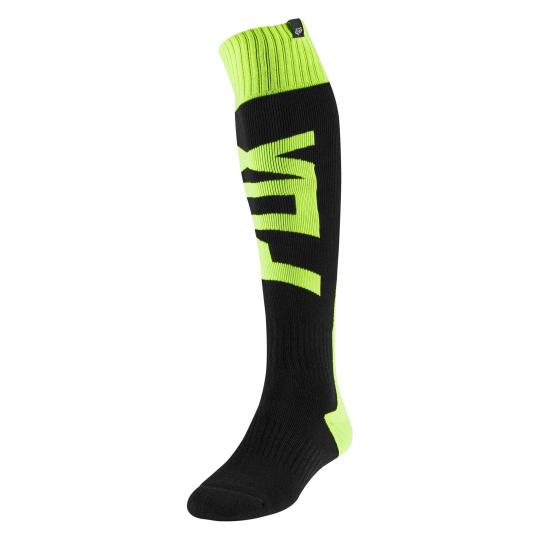 CHAUSSETTES MOTO CROSS FOX FRI THICK - FYCE - YELLOW FLUO 2020