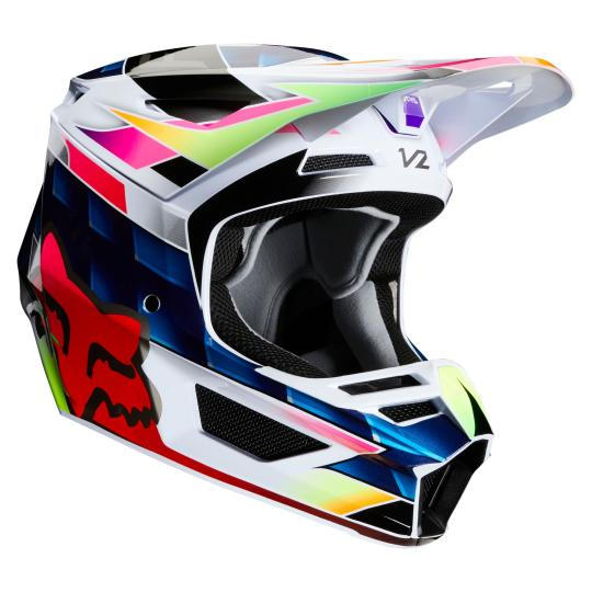 CASQUE MOTO CROSS FOX V2 - KRESA - MULTI 2020