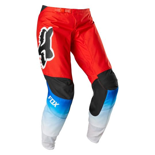 PANTALON MOTO CROSS FOX WOMEN 180 - FYCE - BLUE RED 2020
