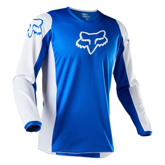 MAILLOT MOTO CROSS FOX 180 - PRIX - BLUE 2020