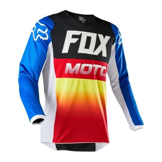 MAILLOT MOTO CROSS FOX YOUTH 180 - FYCE - BLUE RED 2020