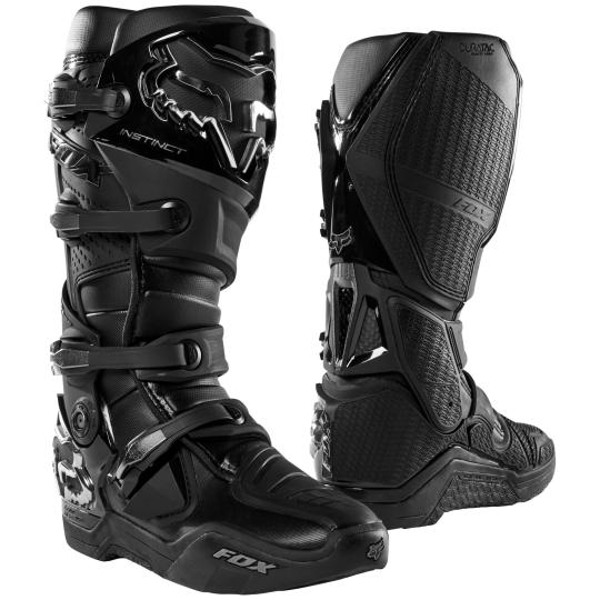 BOTTES MOTO CROSS FOX INSTINCT - BLACK 2020