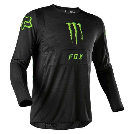 MAILLOT MOTO CROSS FOX 360 - MONSTER - BLACK 2020