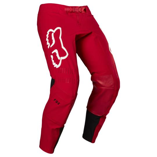 PANTALON MOTO CROSS FOX FLEXAIR - REDR - FLAME RED 2020