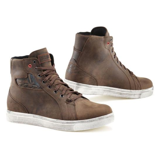 CHAUSSURES MOTO TCX BOOTS STREET ACE DAKAR BROWN WATERPROOF