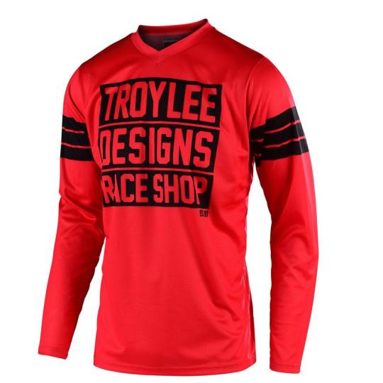 MAILLOT MOTO CROSS TROYLEE DESIGN GP - CARLSBAD - RED 2020