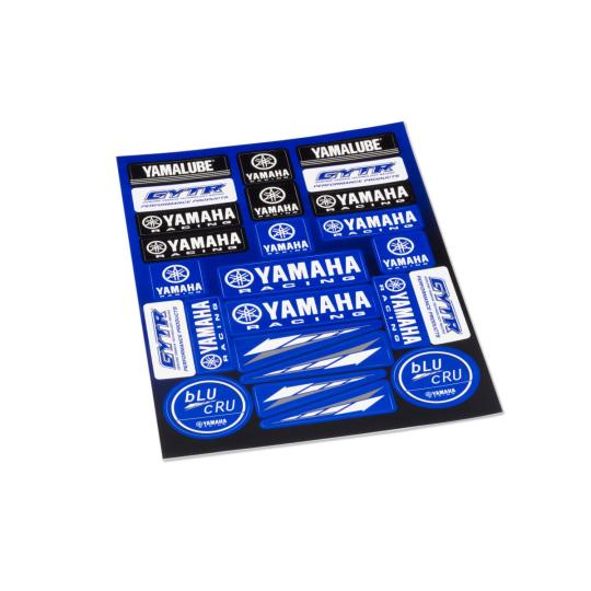 PLANCHE DE STICKER YAMAHA RACING