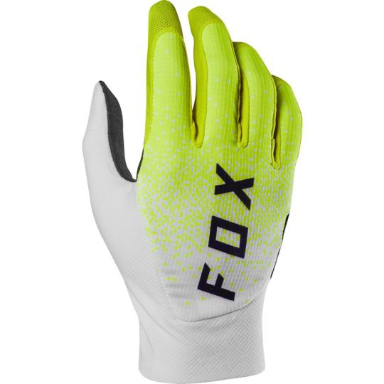GANTS MOTO CROSS FOX FLEXAIR EDITION LIMITEE - HONR LE - PURPLE / YELLOW 2020