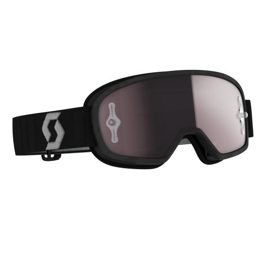 MASQUE SCOTT BUZZ MX PRO BLACK / GREY - ECRAN IRIDIUM WORKS