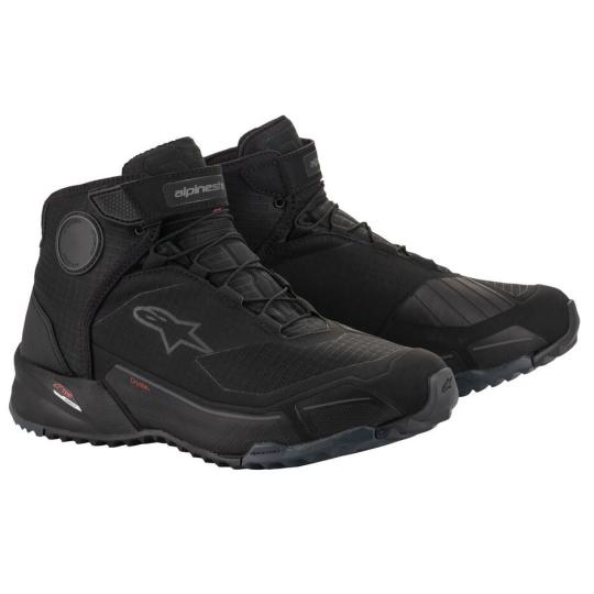 BASKETS MOTO ALPINESTARS CR-X DRYSTAR - BLACK / BLACK