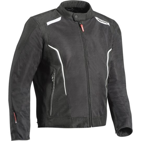 BLOUSON MOTO ETE IXON COOL AIR KING SIZES - NOIR