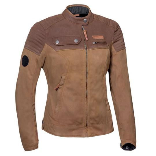 BLOUSON MOTO IXON BOROUGH LADY - MARRON