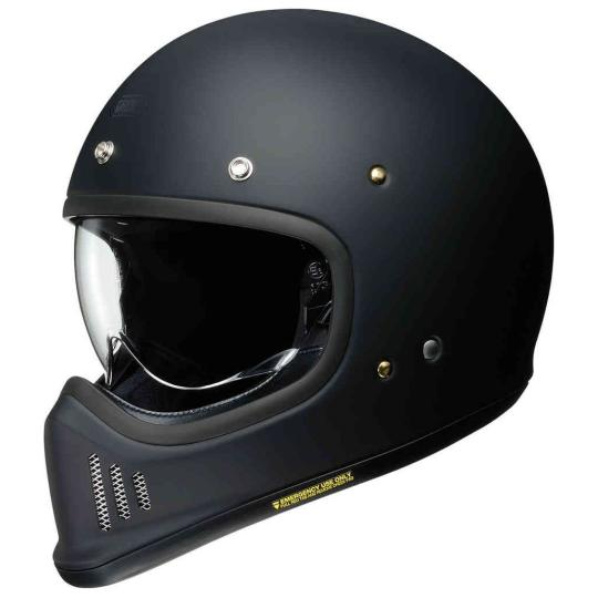 CASQUE MOTO SHOEI EX-ZERO - BLACK MATT