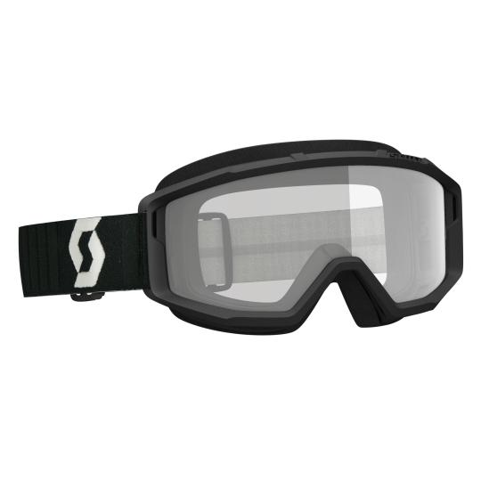 MASQUE MOTO CROSS SCOTT PRIMAL CLEAR - BLACK/GREY